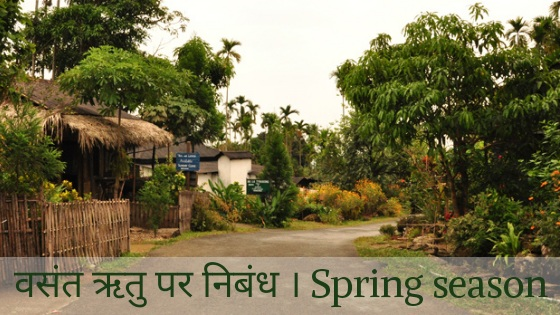 Essay on Spring Season in Hindi, About Spring Season in Hindi, Basant Ritu Par Nibandh, Spring Season Essay in Hindi